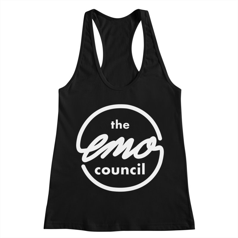 Emo Council  Women's Racerback Tank by Washed Up Emo