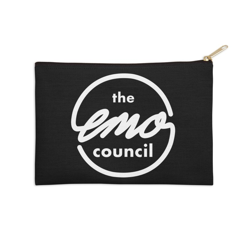 Emo Council  Accessories Zip Pouch by Washed Up Emo