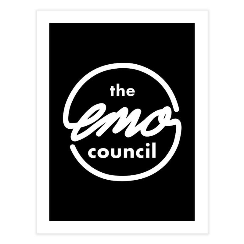 Emo Council  Home Fine Art Print by Washed Up Emo