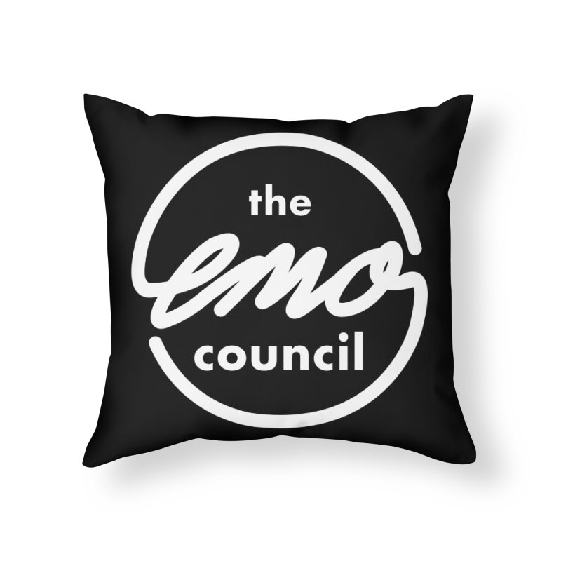 Emo Council  Home Throw Pillow by Washed Up Emo