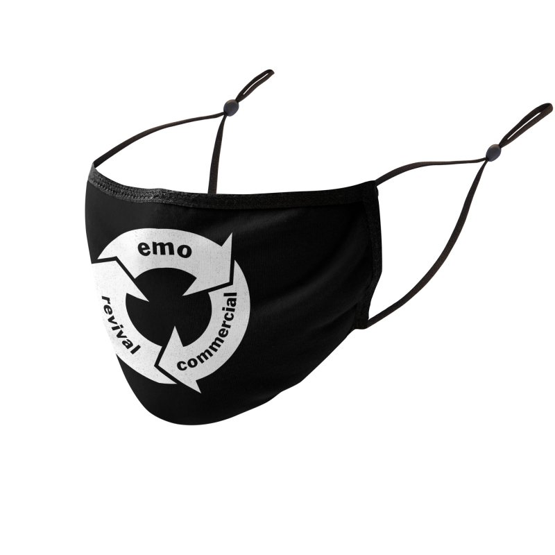 Emo Cycle  Accessories Face Mask by Washed Up Emo