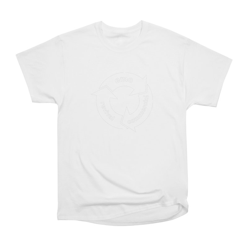 Emo Cycle  Women's Heavyweight Unisex T-Shirt by Washed Up Emo