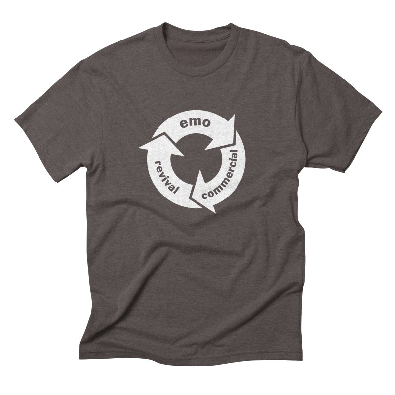 Emo Cycle  Men's Triblend T-Shirt by Washed Up Emo