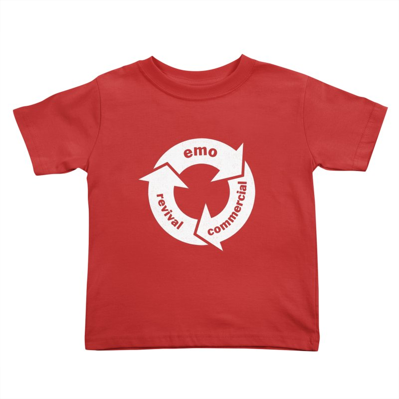 Emo Cycle  Kids Toddler T-Shirt by Washed Up Emo