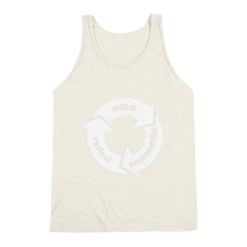 Emo Cycle  Men's Triblend Tank by Washed Up Emo