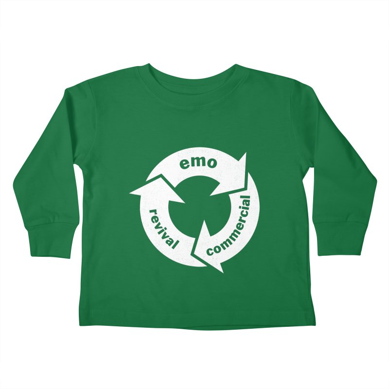 Emo Cycle  Kids Toddler Longsleeve T-Shirt by Washed Up Emo