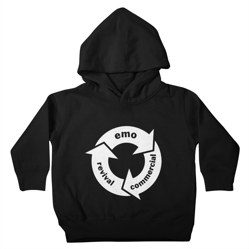 Emo Cycle  Kids Toddler Pullover Hoody by Washed Up Emo