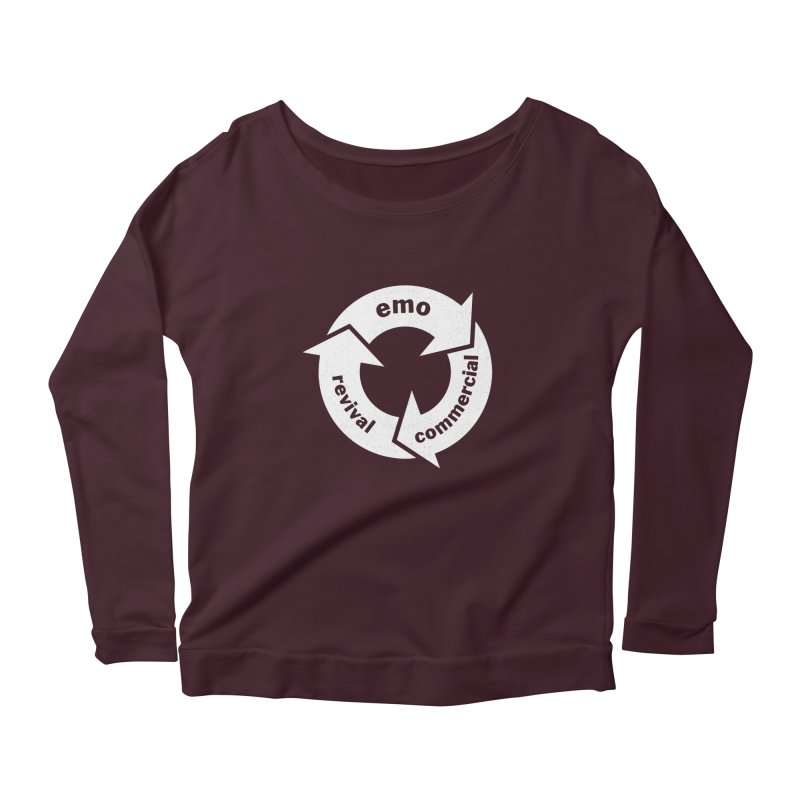 Emo Cycle  Women's Longsleeve T-Shirt by Washed Up Emo