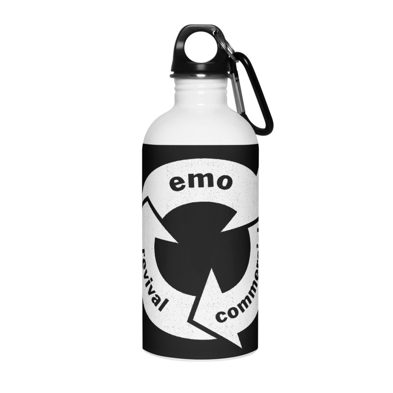 Emo Cycle  Accessories Water Bottle by Washed Up Emo