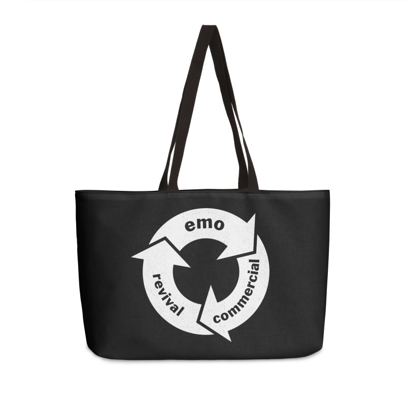 Emo Cycle  Accessories Weekender Bag Bag by Washed Up Emo
