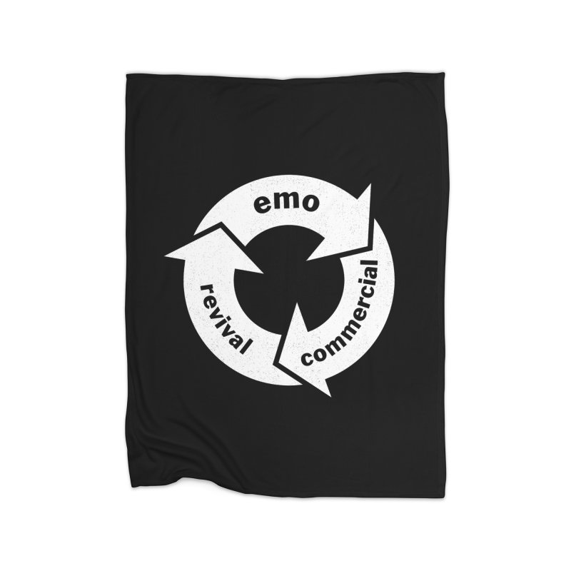 Emo Cycle  Home Blanket by Washed Up Emo