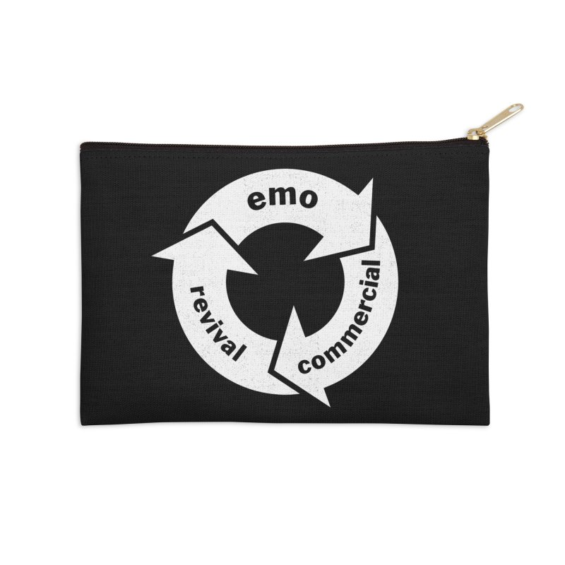 Emo Cycle  Accessories Zip Pouch by Washed Up Emo