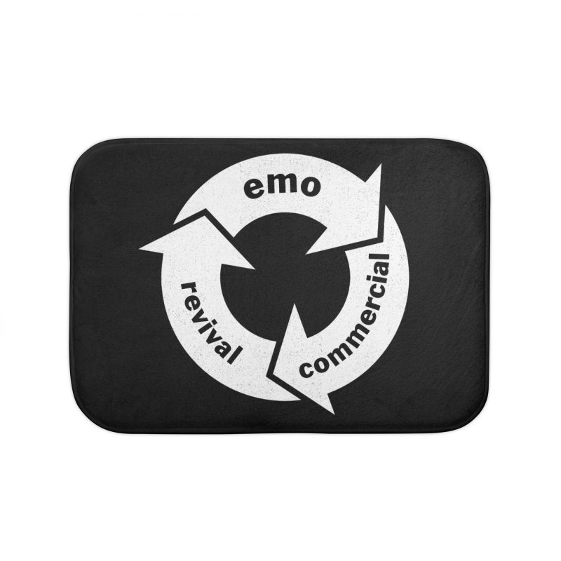 Emo Cycle  Home Bath Mat by Washed Up Emo