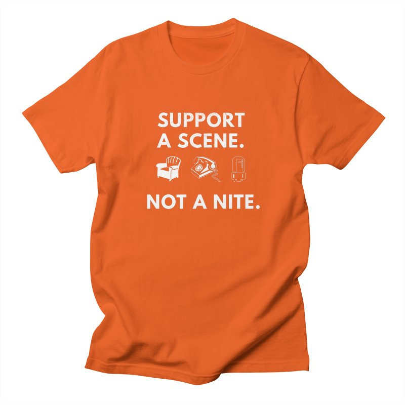 Support Your Scene Women's Regular Unisex T-Shirt by Washed Up Emo