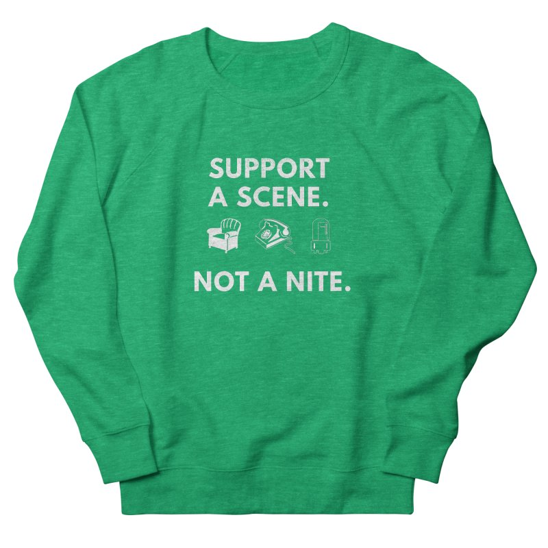 Support Your Scene Women's Sweatshirt by Washed Up Emo