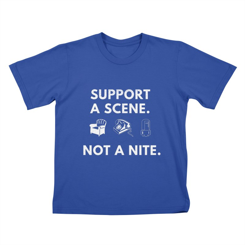 Support Your Scene Kids T-Shirt by Washed Up Emo