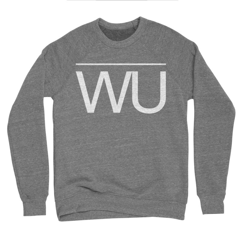 Washed Up - Letters Women's Sponge Fleece Sweatshirt by Washed Up Emo