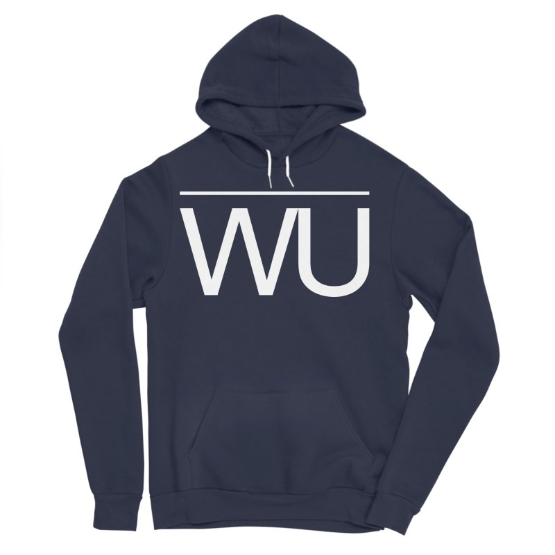 Washed Up - Letters Men's Sponge Fleece Pullover Hoody by Washed Up Emo