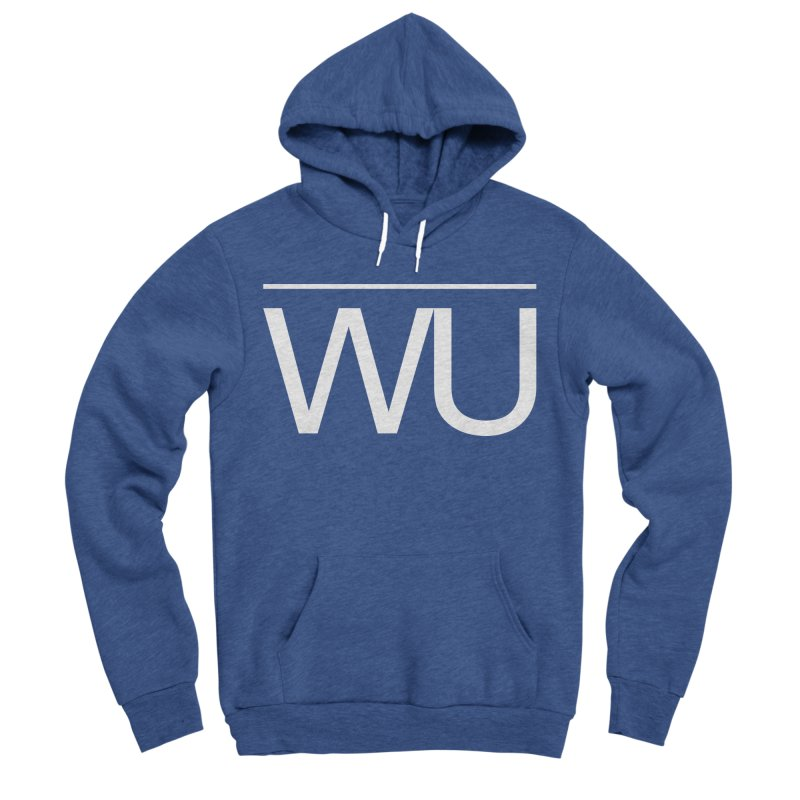 Washed Up - Letters Women's Sponge Fleece Pullover Hoody by Washed Up Emo