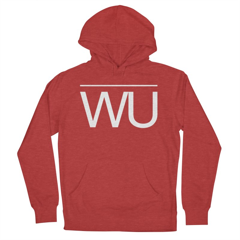 Washed Up - Letters Women's French Terry Pullover Hoody by Washed Up Emo