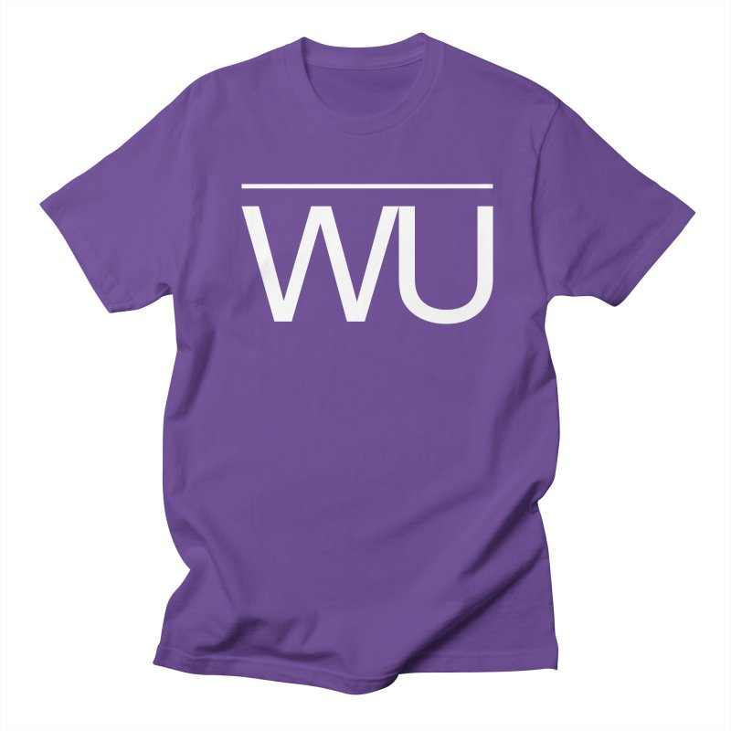 Washed Up - Letters Men's Regular T-Shirt by Washed Up Emo