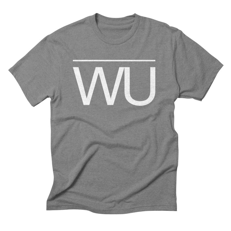 Washed Up - Letters Men's Triblend T-Shirt by Washed Up Emo