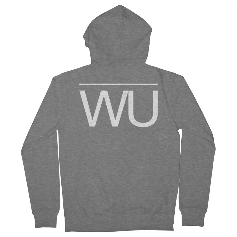 Washed Up - Letters Men's French Terry Zip-Up Hoody by Washed Up Emo