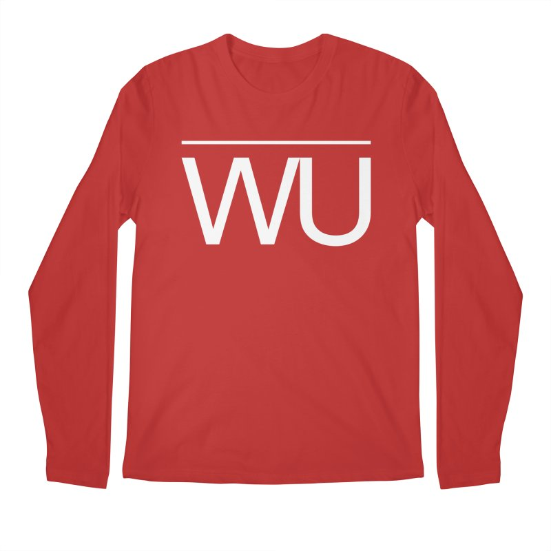 Washed Up - Letters Men's Regular Longsleeve T-Shirt by Washed Up Emo