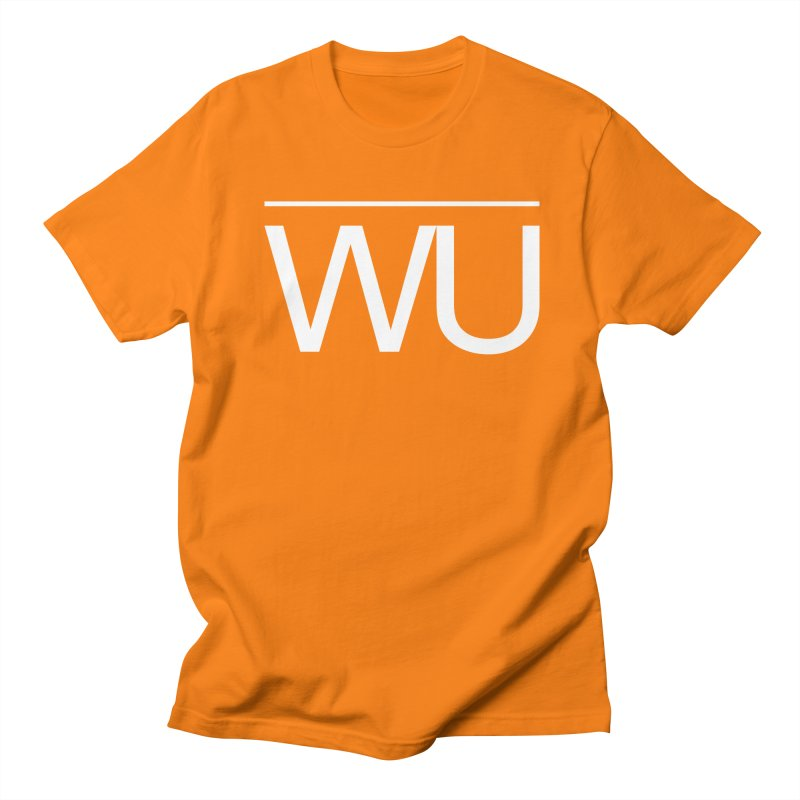 Washed Up - Letters Women's Regular Unisex T-Shirt by Washed Up Emo