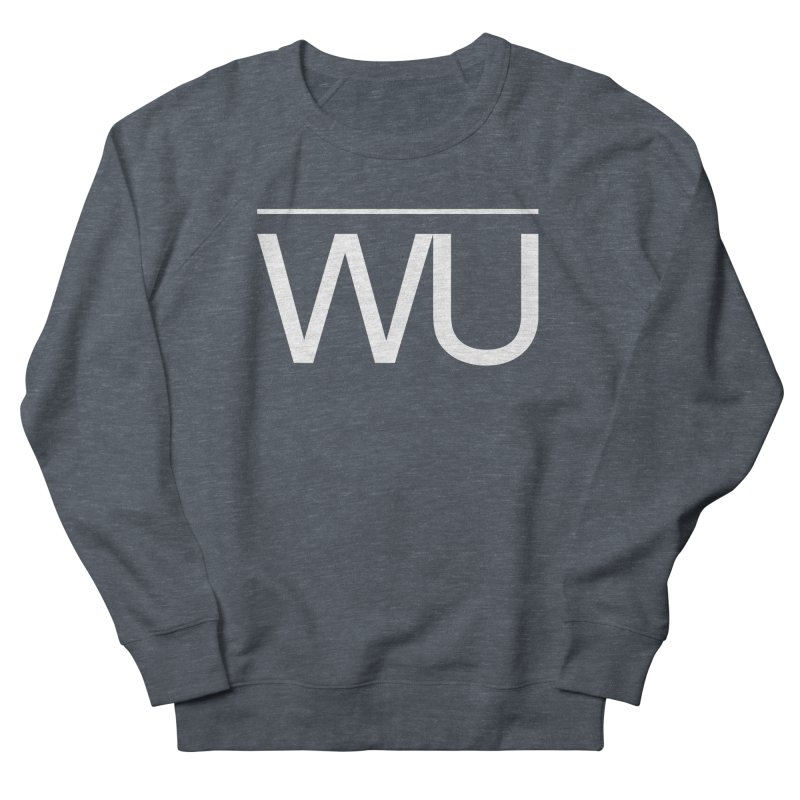 Washed Up - Letters Women's French Terry Sweatshirt by Washed Up Emo