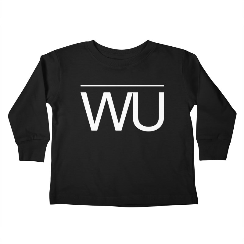 Washed Up - Letters Kids Toddler Longsleeve T-Shirt by Washed Up Emo