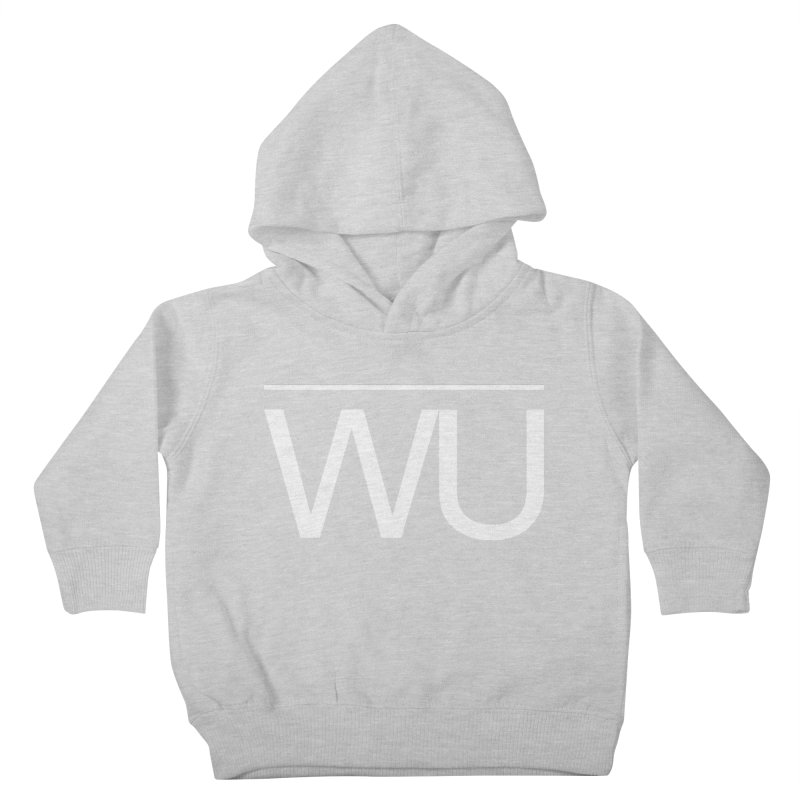 Washed Up - Letters Kids Toddler Pullover Hoody by Washed Up Emo