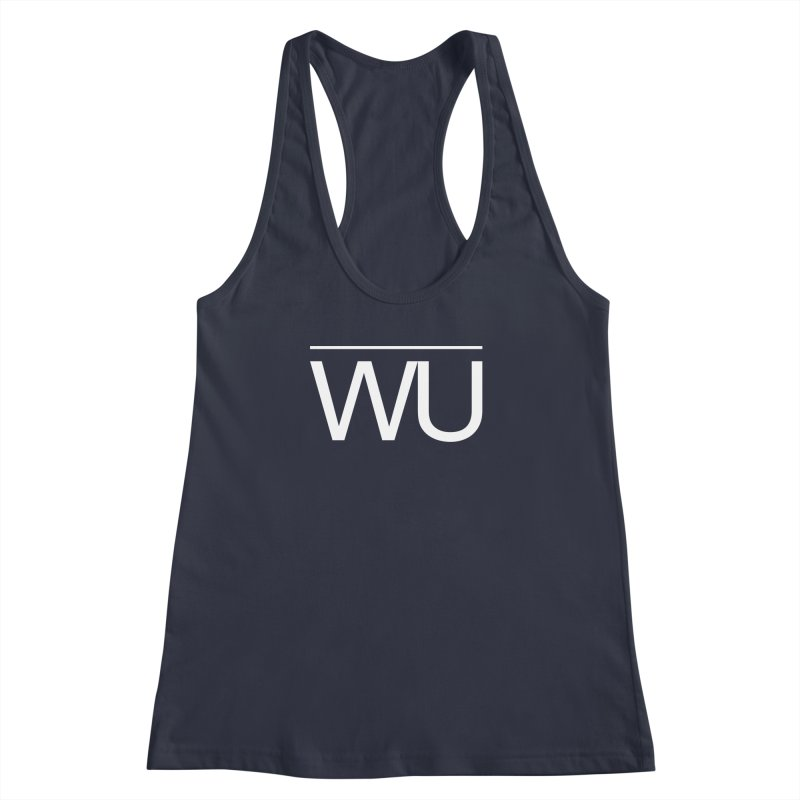 Washed Up - Letters Women's Racerback Tank by Washed Up Emo
