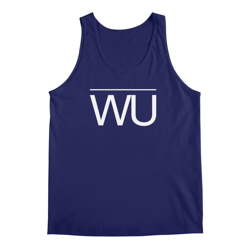 Washed Up - Letters Men's Regular Tank by Washed Up Emo