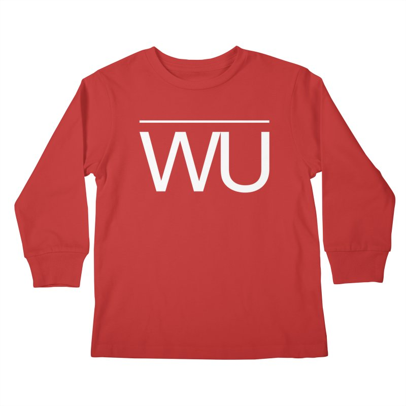 Washed Up - Letters Kids Longsleeve T-Shirt by Washed Up Emo