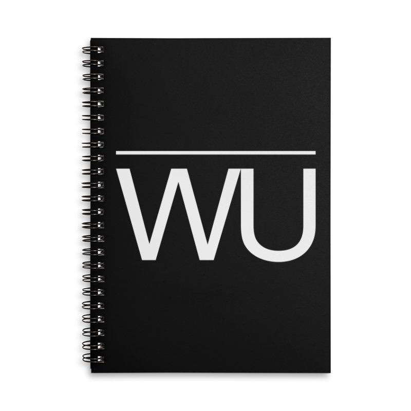 Washed Up - Letters Accessories Notebook by Washed Up Emo