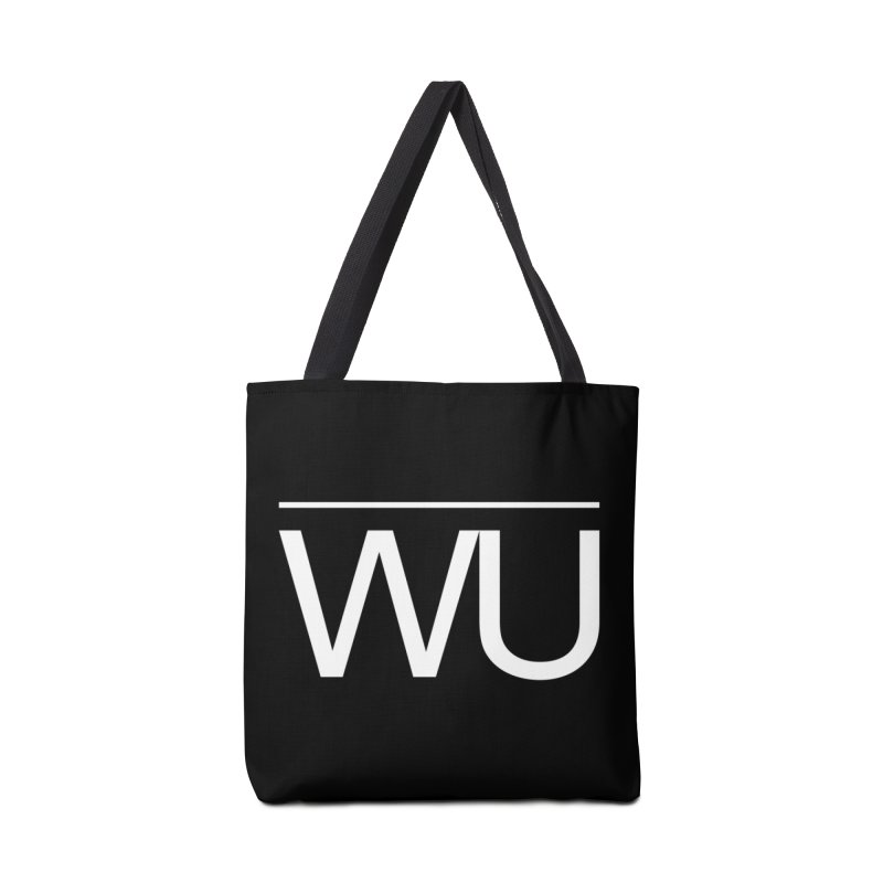 Washed Up - Letters Accessories Tote Bag Bag by Washed Up Emo