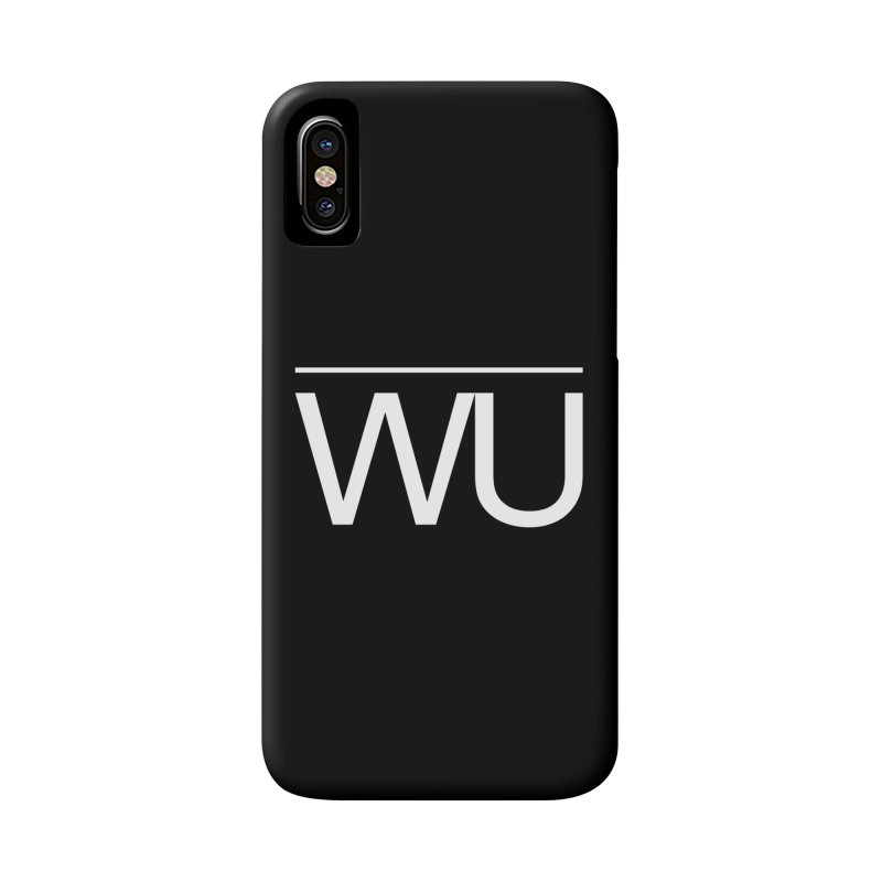 Washed Up - Letters Accessories Phone Case by Washed Up Emo