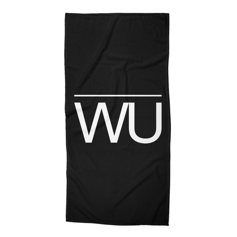 Washed Up - Letters Accessories Beach Towel by Washed Up Emo