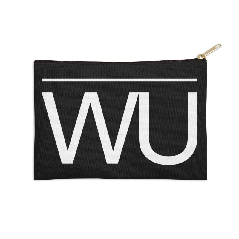 Washed Up - Letters Accessories Zip Pouch by Washed Up Emo