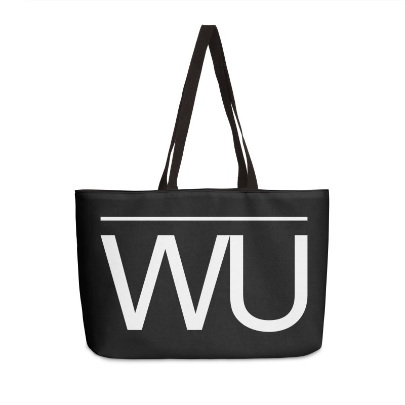 Washed Up - Letters Accessories Weekender Bag Bag by Washed Up Emo