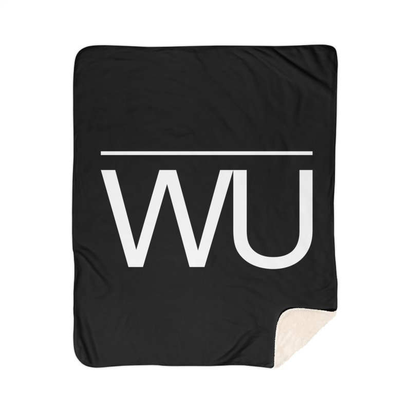 Washed Up - Letters Home Sherpa Blanket Blanket by Washed Up Emo