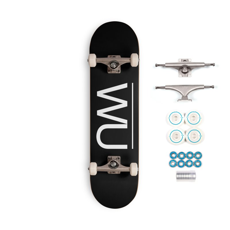 Washed Up - Letters Accessories Skateboard by Washed Up Emo