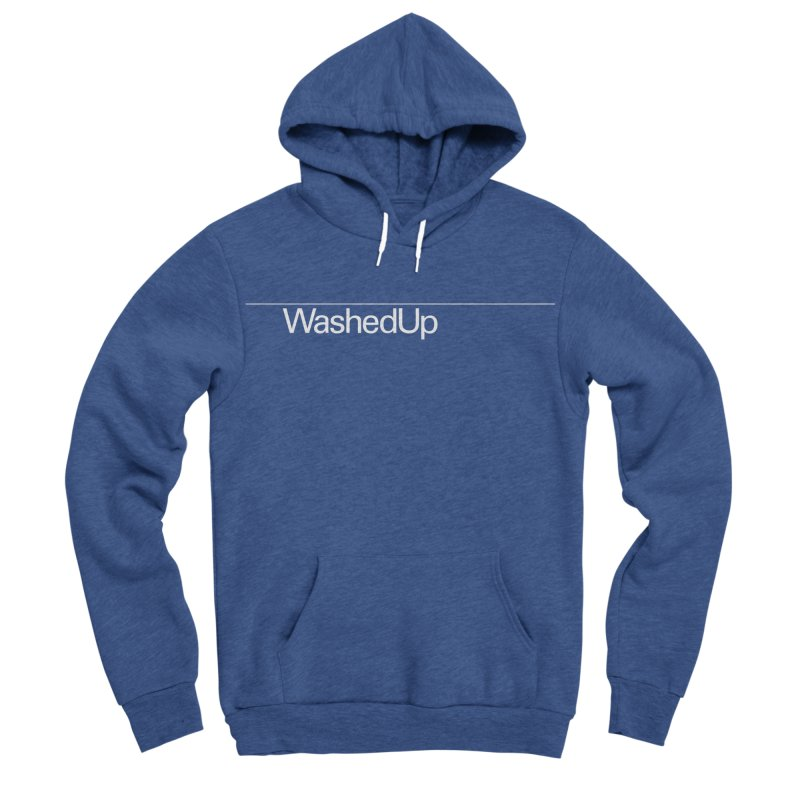 Washed Up - Words Women's Sponge Fleece Pullover Hoody by Washed Up Emo
