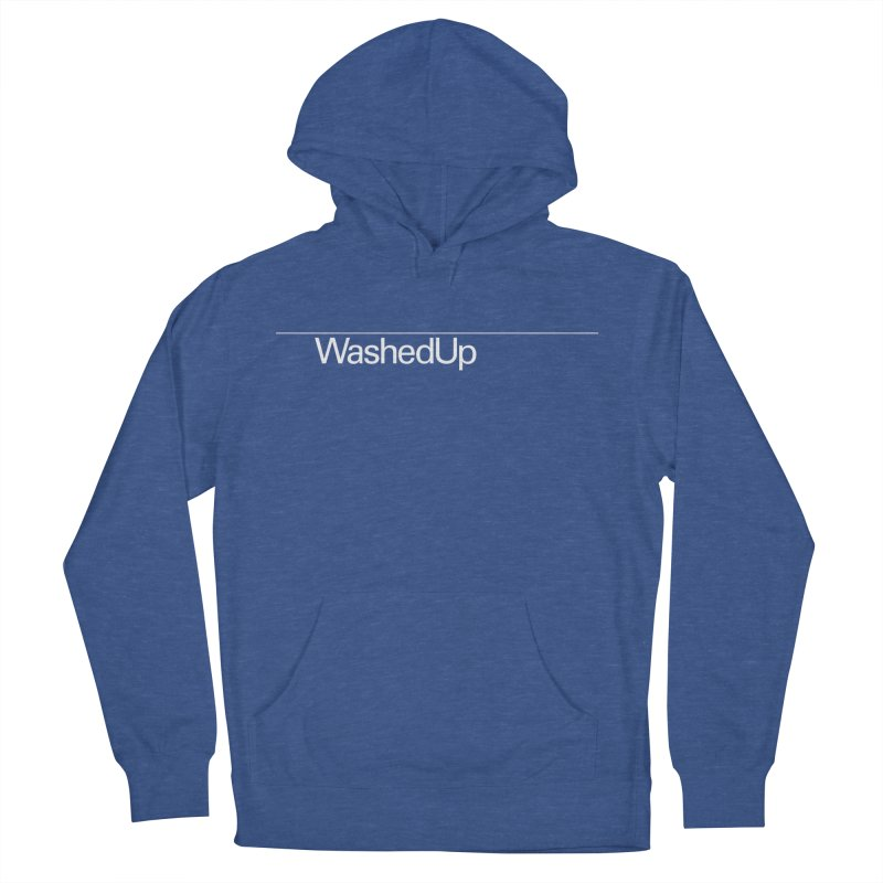 Washed Up - Words Women's French Terry Pullover Hoody by Washed Up Emo