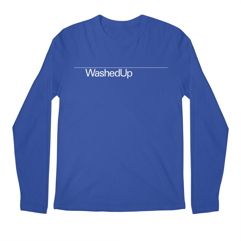 Washed Up - Words Men's Regular Longsleeve T-Shirt by Washed Up Emo