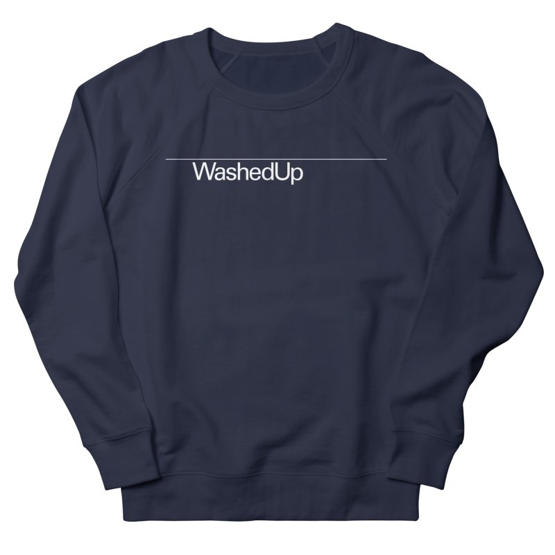 Washed Up - Words Men's French Terry Sweatshirt by Washed Up Emo