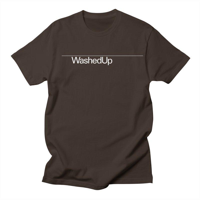 Washed Up - Words Men's Regular T-Shirt by Washed Up Emo