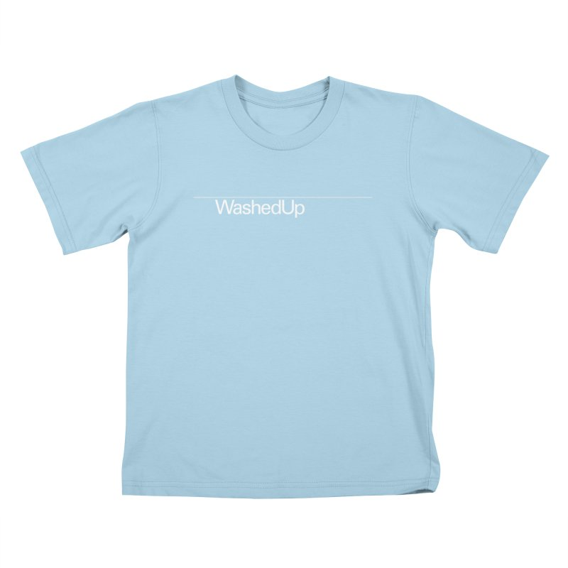 Washed Up - Words Kids T-Shirt by Washed Up Emo