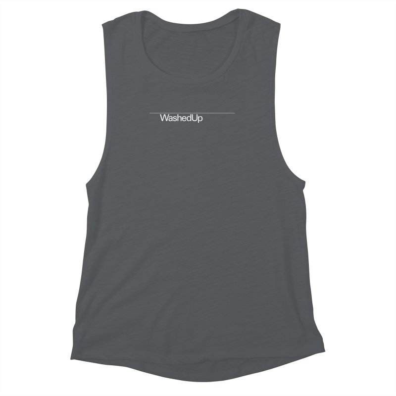 Washed Up - Words Women's Muscle Tank by Washed Up Emo